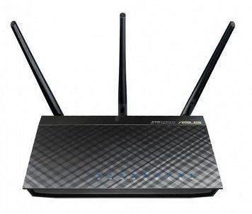 ASUS RT-AC66U Router AC 2.4/5GHz 1750Mbps 4-port 3x5dBi