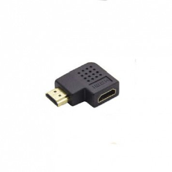 Adapter Wtyk HDMI - Gn. HDMI 90st. A90H-MF2