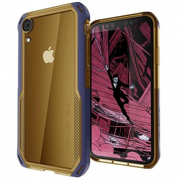 Etui Cloak 4 Apple iPhone Xr złoty