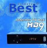 BEST HD9 IPTV BOX m3u H.265 Stalker + m3u