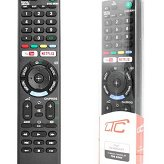 Pilot do TV LCD/LED SONY RM-L1370 3D NETFLIX YOUTUBE