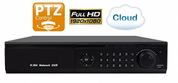 Rejestrator NVR Cloud IP 16CH Spacetronik SP-NVR916S