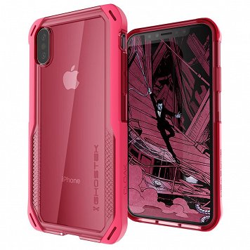 Etui Cloak 4 Apple iPhone X/Xs różowy