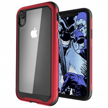 Etui Atomic Slim 2 Apple iPhone Xr czerwony