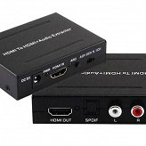 Extractor HDMI na HDMI + Audio SPDIF lub R/L Spacetronik SPH-AE01 HDCEXTR