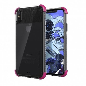 Etui Covert 2 Apple iPhone X/Xs różowy