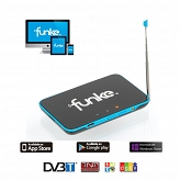 Mobilny tuner & streamer DVB-T do IP Funke TV4ME