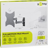 "Uchwyt TV Goobay BASIC FULLMOTION S 23""-42"" do 15kg"