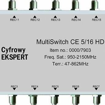 MultiSwitch Technisat CE 5/16 HD