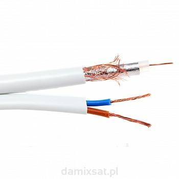 Kabel Spacetronik CCTV RG59+2x0.5 SP500 CU 100mb