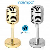 Intempo Portable Microphone Bluetooth Speake