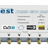Multiswitch BEST HQMS 5/12 + zasilacz