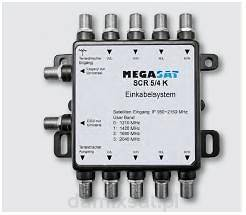 Multiswitch Unicable Megasat SCR 5/4 K Basis