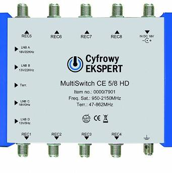 MultiSwitch Technisat CE 5/8 HD