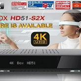 Opticum AX 4K BOX HD51- S2X